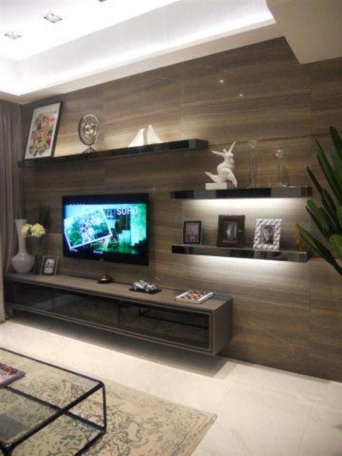 Tv Console Tv Feature Wall Simple Closet S Pte Ltd